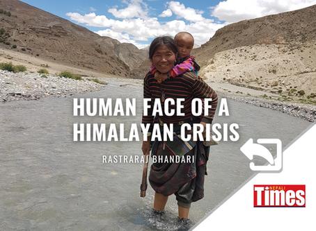 Human face of a Himalayan climate crisis