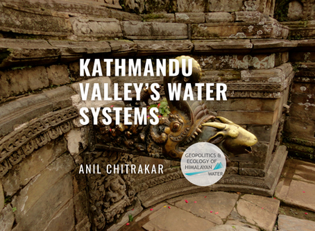 Kathmandu valley's globally unique water systems