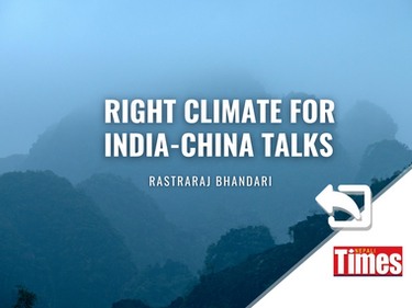 Right climate for India-China talks on climate change
