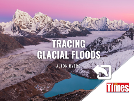Tracing past glacial floods in Kangchenjunga