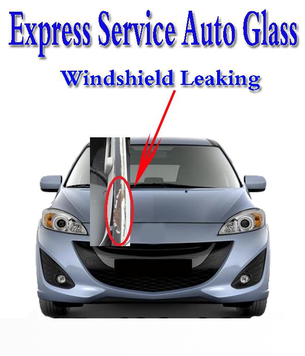 Windshield Leaking