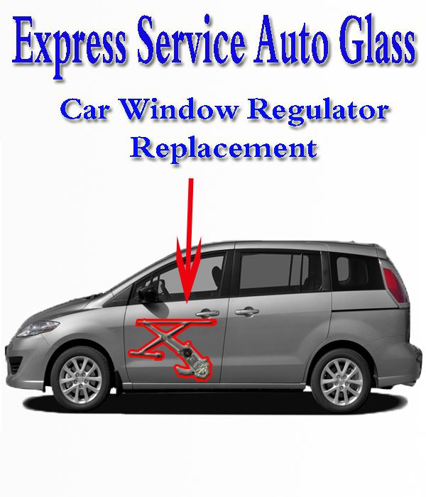 Car Window Regulator Replacement