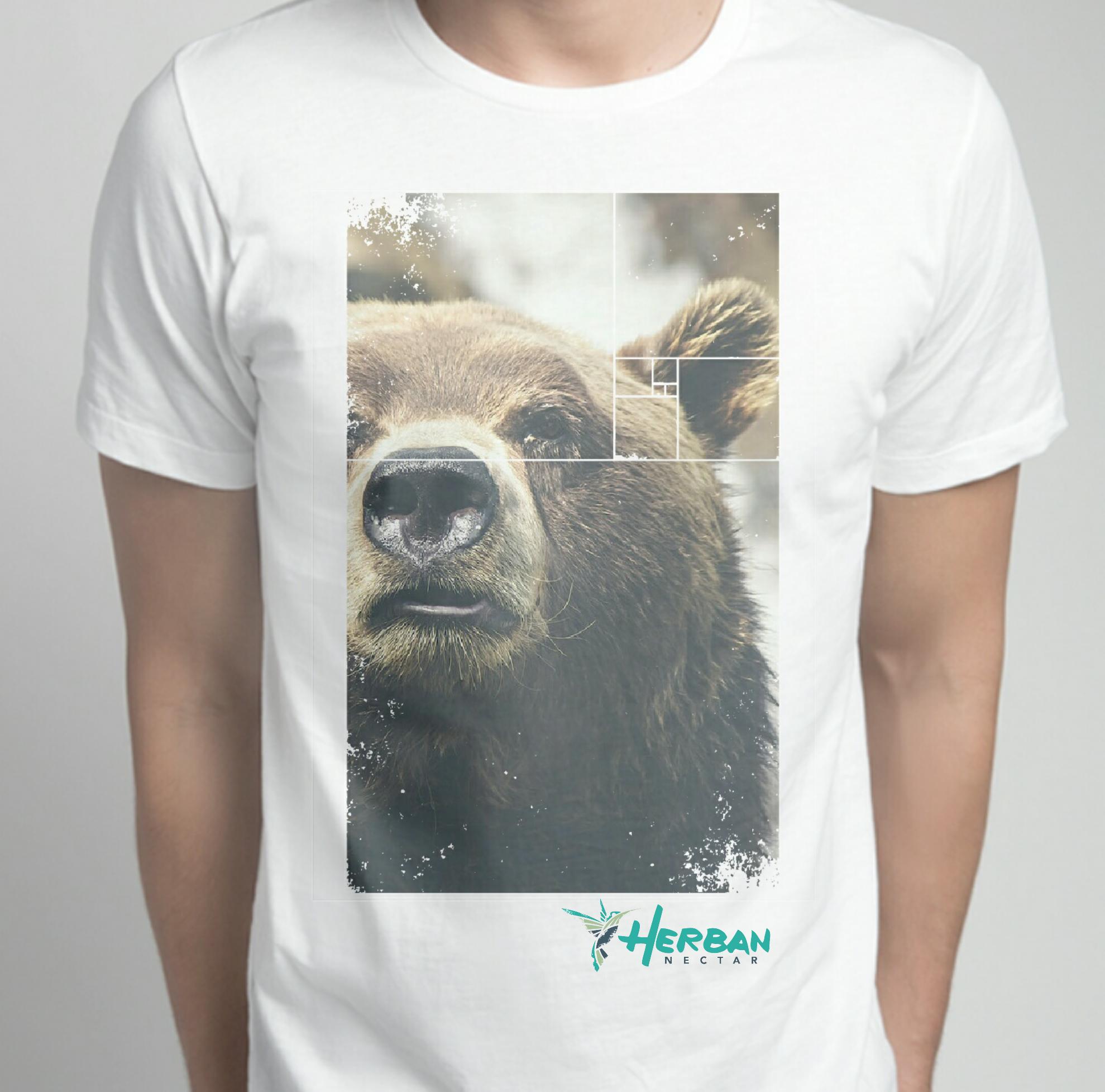 Herban Nectar T shirt Bear