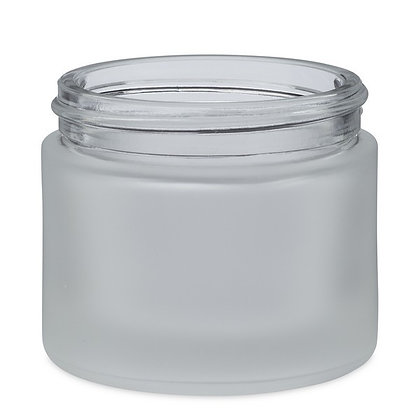2oz Frosted Glass Jar for 1/8s