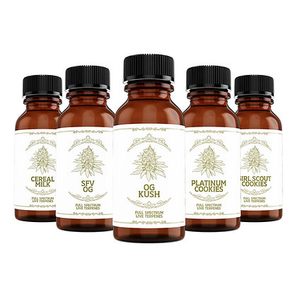 LIVE TERPENE SAMPLE PACK- USA Shipping Only