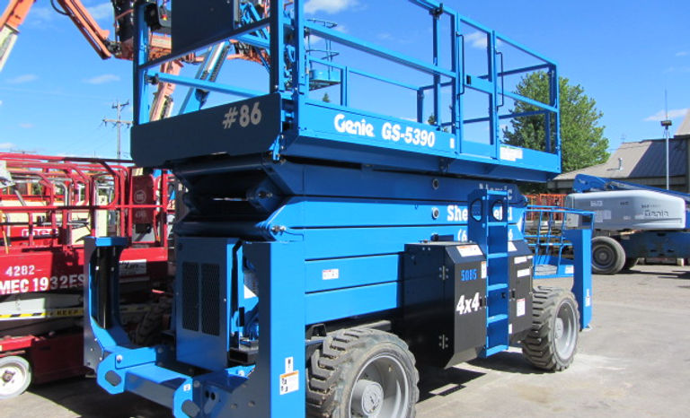 New 2019 Genie GS-5390RT Rough Terrain Scissor Lift for sale