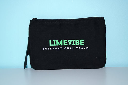 Lime Vibe Travel Pouch