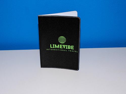 Lime Vibe Travel Passport Holder