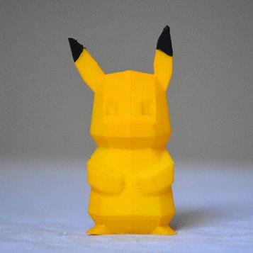 Pikachu Low-Poly