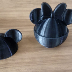 Porta Objeto Minnie e Mickey
