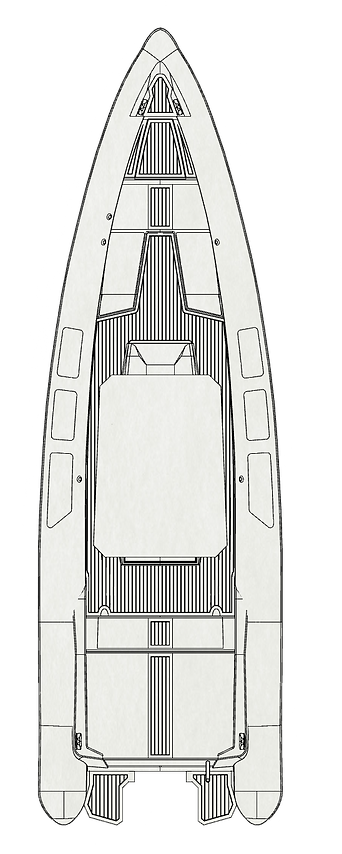 Seafighter Rib T30 drawing