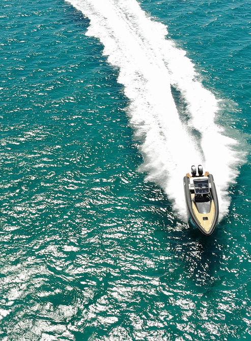 Seafighter Rib drone shot