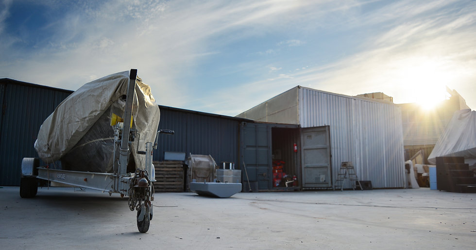 Panoramic Photo of Seafighter Rib Shipyard