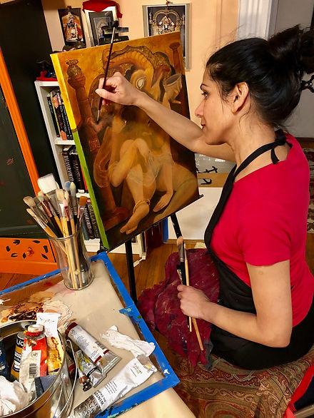 Mesma Belsare in her studio.jpg