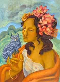 Lakshmi | Original painting is SOLD. Order your prints below!