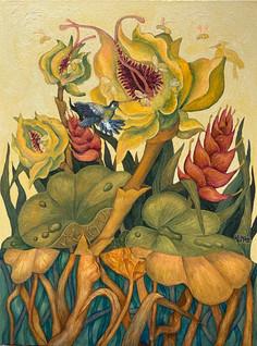 Humming Dews | Original painting is SOLD. Order your prints below!