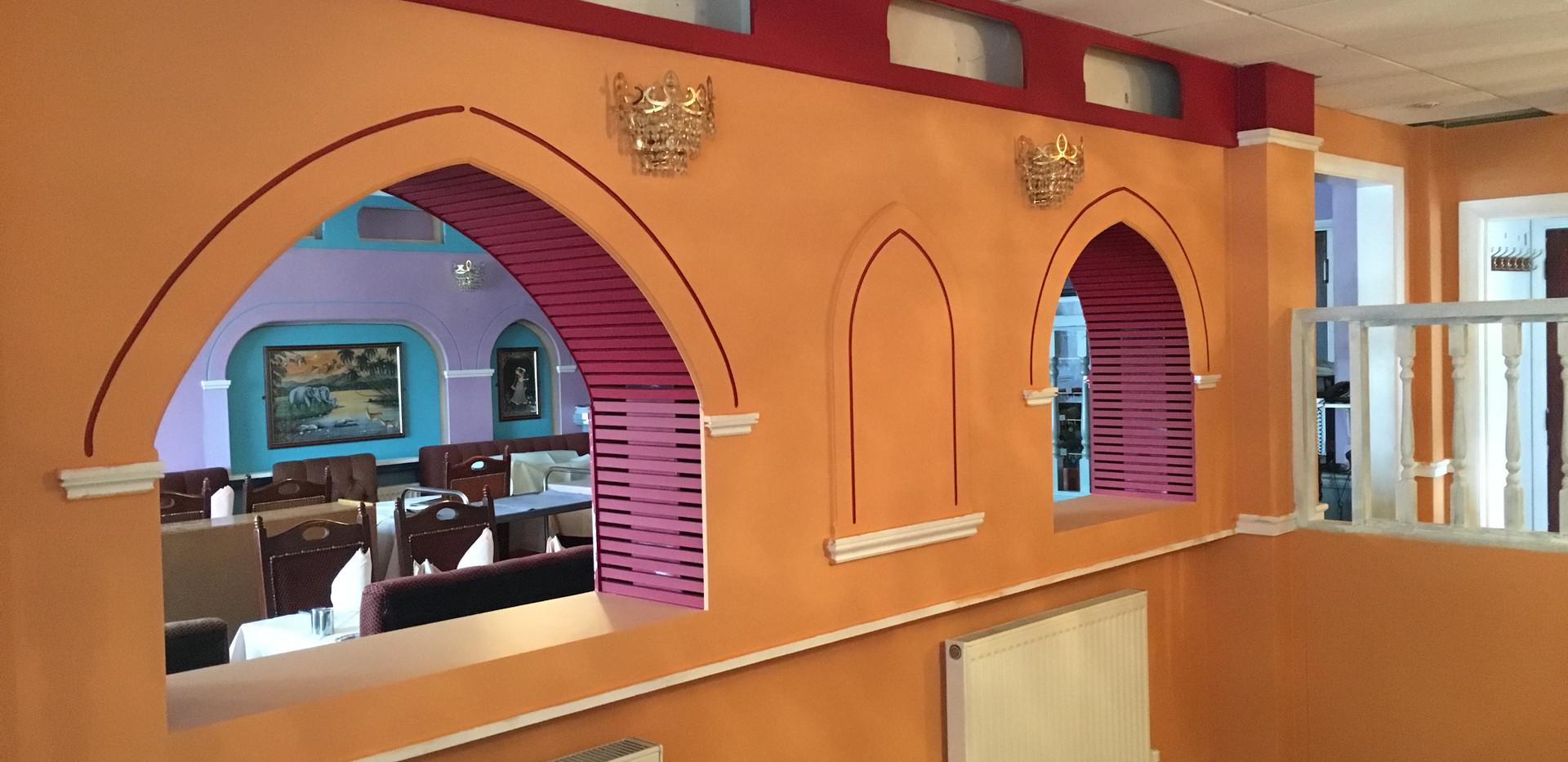 Indian Restaurant Refurbishment