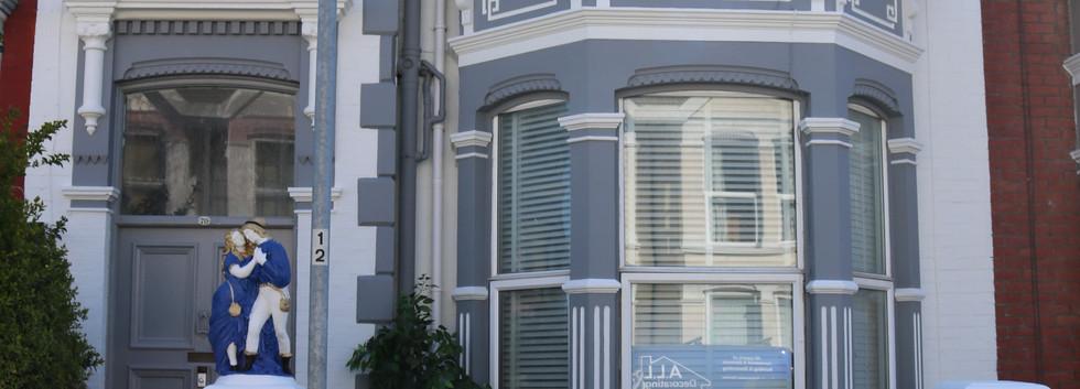 Boutique house front