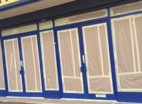 Is Shop Front Spraying For Me?
