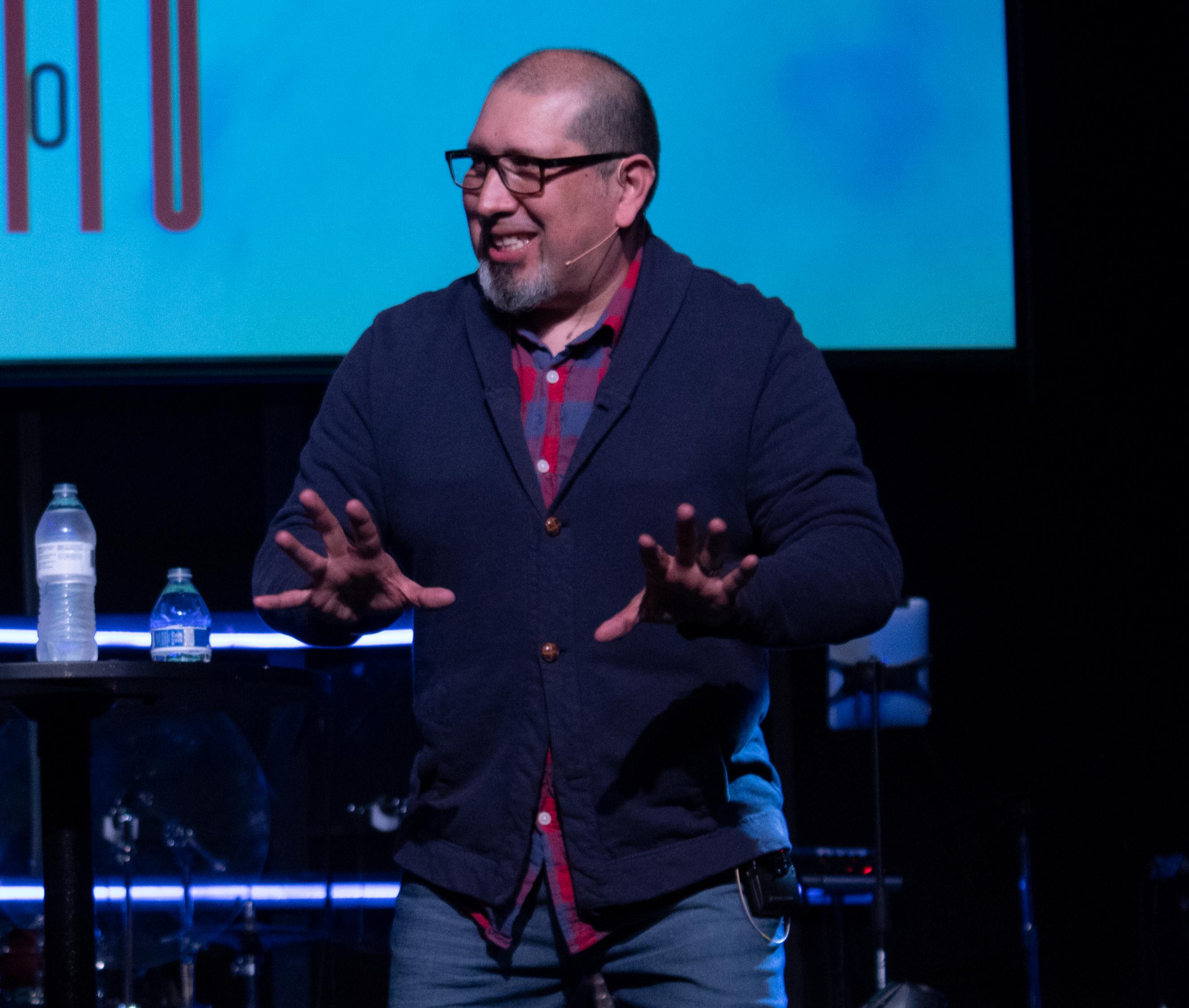 Pastor Ed Garcia