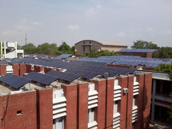 solar power plant at IIT Kanpur