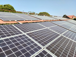 Complete installation of 100 KW