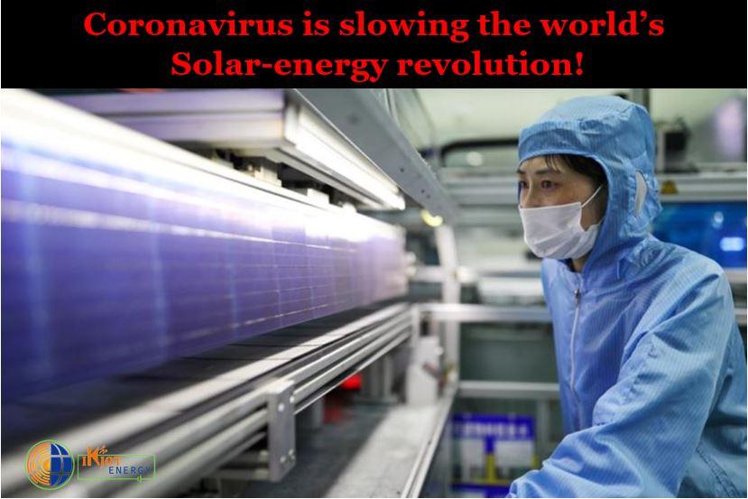 corona virus affecting solar energy