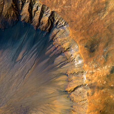 Новое приключение на планету Марс - работа участника конкурса «Космос - просторы Вселенной»