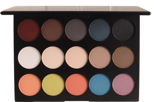 Bettza's INSPIRE 15 shade Eyeshadow Palette