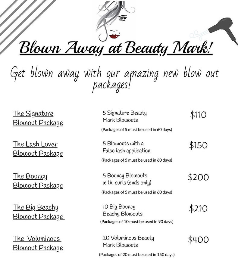 Blow out specials