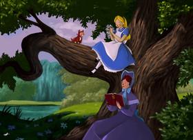 Alice in Wonderland Stylised