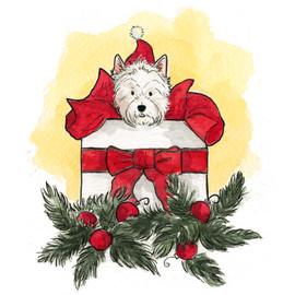 Cute Doggie Christmas