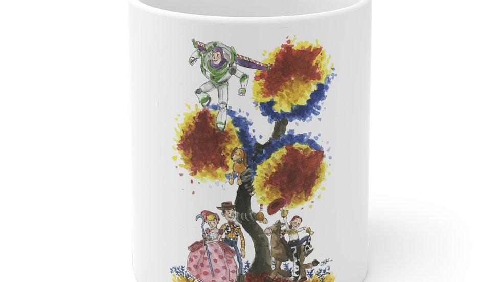 Disney Pixar Toy Story Tree Watercolor Original Design Ceramic Mug (EU)
