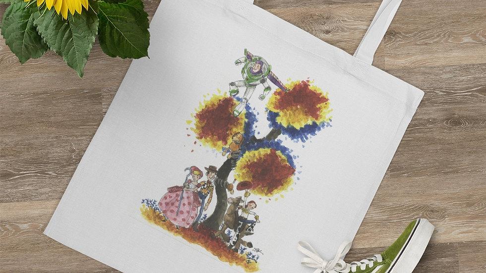 Disney Toy Story Watercolor Original Design Tote Bag