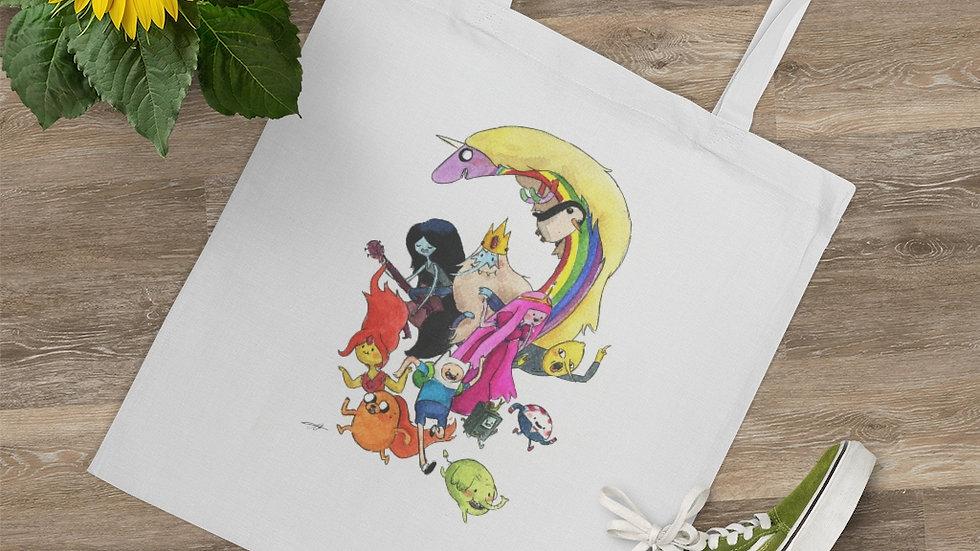 Adventure Time Watercolor Original Design Tote Bag