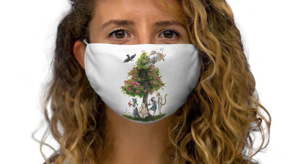 Studio Ghibli Cat's Return Original Design Snug-Fit Polyester Face Mask