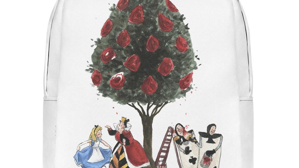 Disney Alice in WonderlandWatercolor Original Design Minimalist Backpack