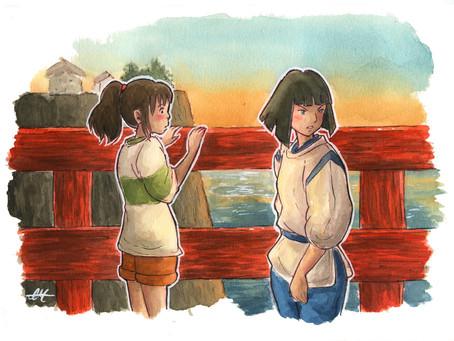 Back To Study New Ghibli Scenes 😍