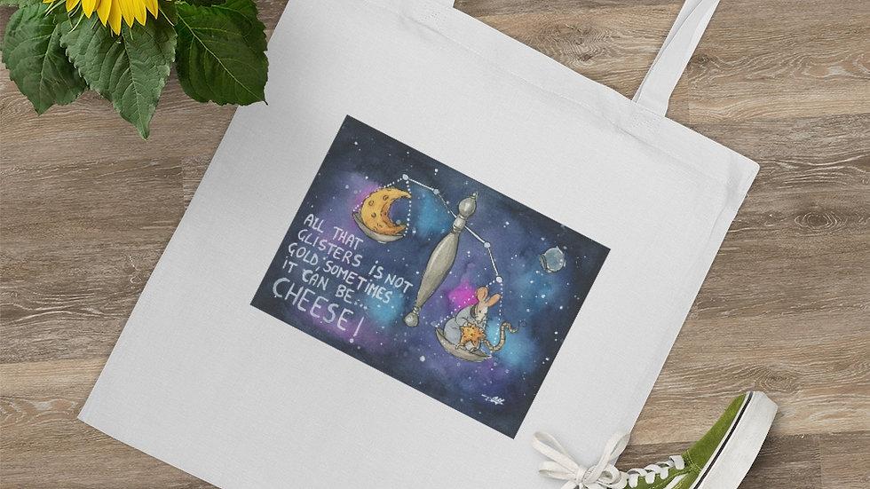 Gold can be Cheese Watercolor Original Design Tote Bag
