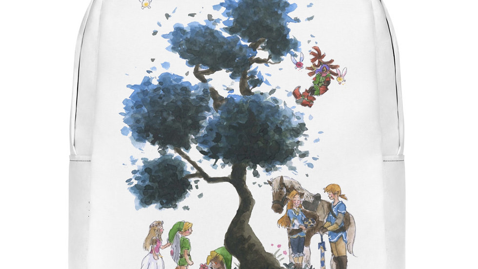 The Legend of Zelda Watercolor Original Design Minimalist Backpack