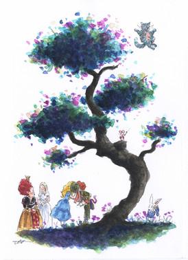 Alice In wonderland Tree