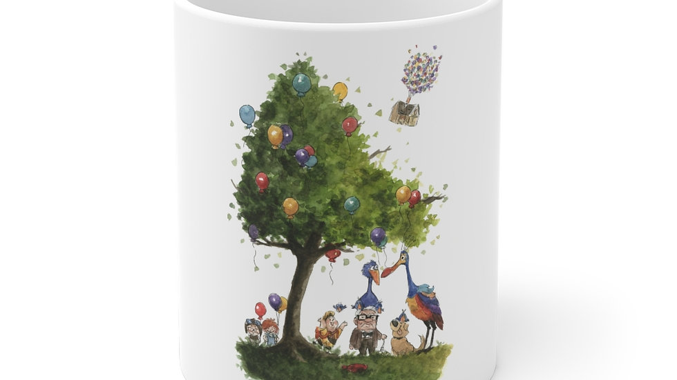Disney Up Watercolor Original Design Ceramic Mug (EU)