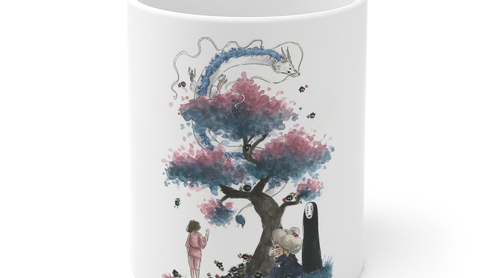 Studio Ghibli Spirited Away Dragon Ceramic Mug (EU)