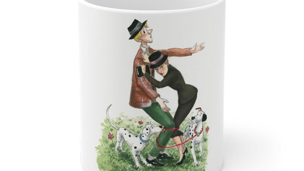 Disney 101 Dalmatians Watercolor Original Design Ceramic Mug (EU)