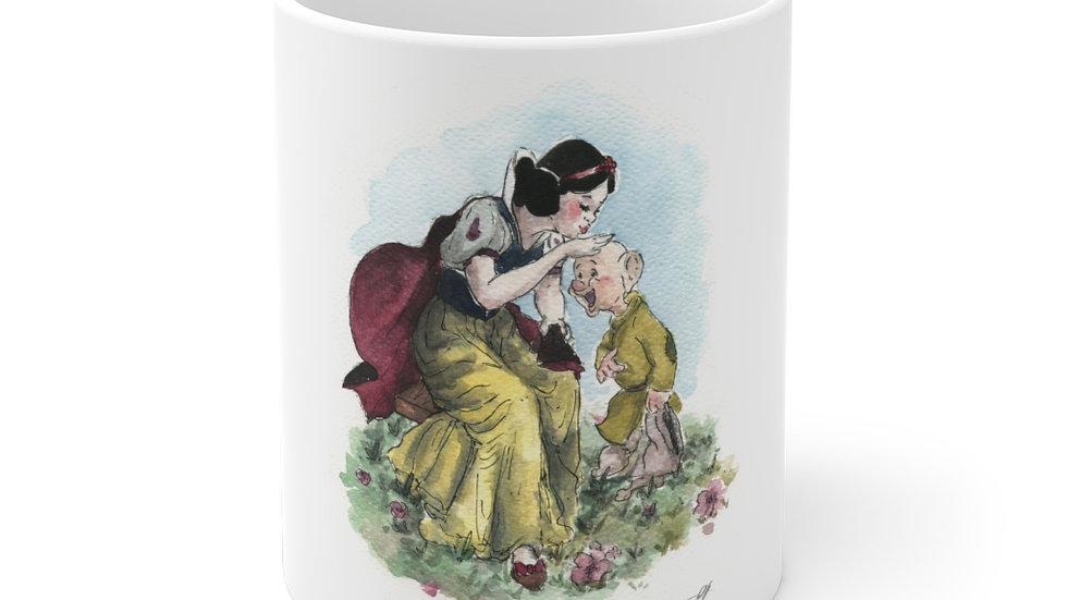 Disney Snow White Watercolor Original Design Ceramic Mug (EU)