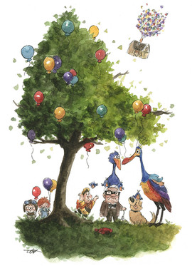 Up Disney Tree