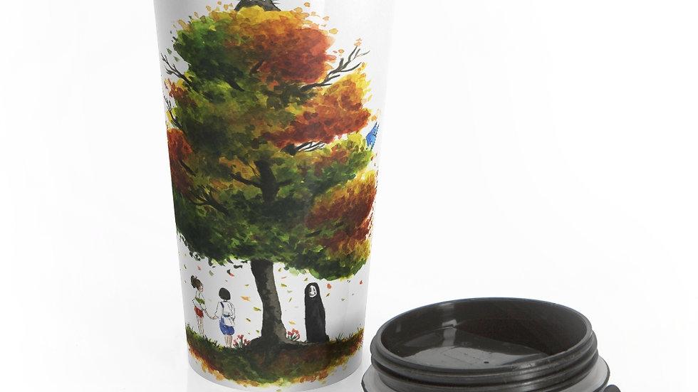 Studio Ghibli Chihiro & Totoro Original Design Stainless Steel Travel Mug