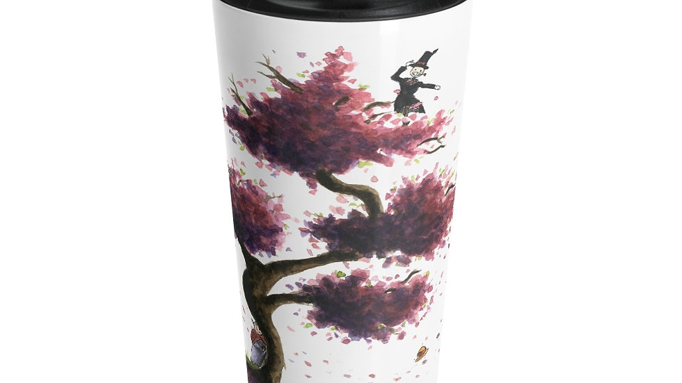 Studio Ghibli Howl's Moving Castle Original Design Stainless Steel Travel Mug