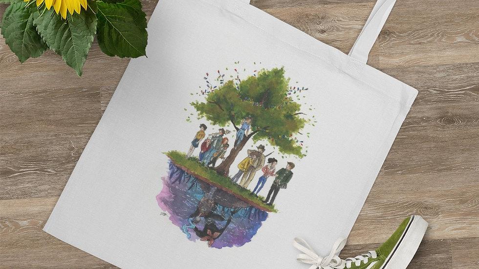 Stranger Things Netflix Original Watercolor Original Design Tote Bag