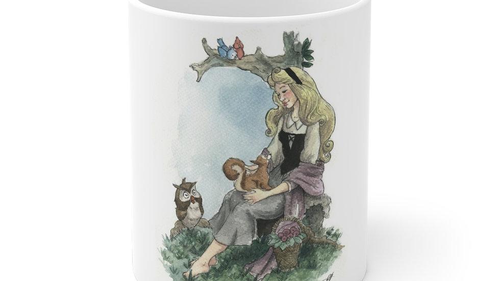 Disney Princess Aurora Watercolor Original Design Ceramic Mug (EU)